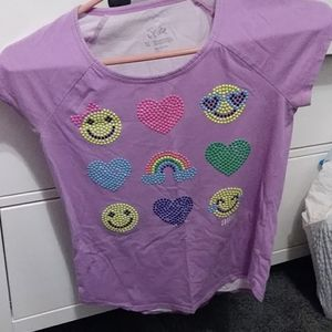 Girl's Justice shirt